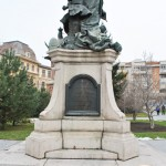 Monumentul Barbu Stirbei, Craiova - vedere din spate
