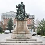 Monumentul Barbu Stirbei, Craiova - vedere frontala