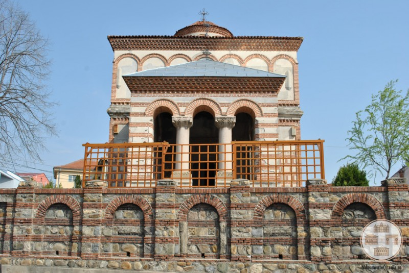 Biserica Sf Arhangheli Mihail si Gavriil, Craiova - fatada principala