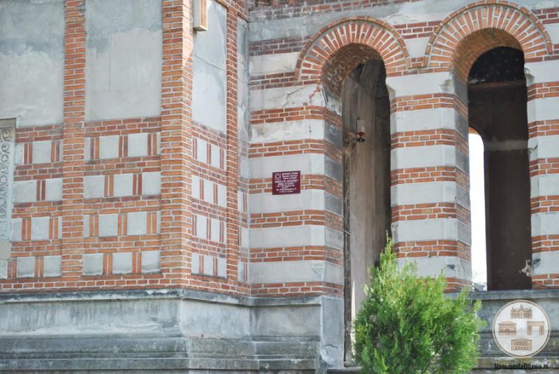Biserica Sf Arhangheli Mihail si Gavriil, Craiova - placuta monument istoric