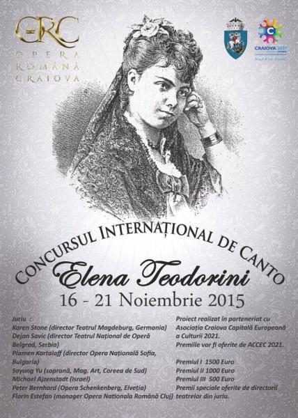 Concursul International de Canto Elena Teodorini - Opera Romana 2015