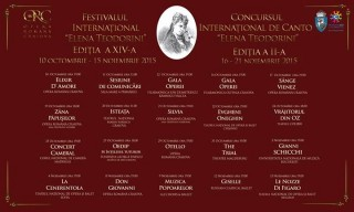 Festivalul International Elena Teodorini Craiova 2015