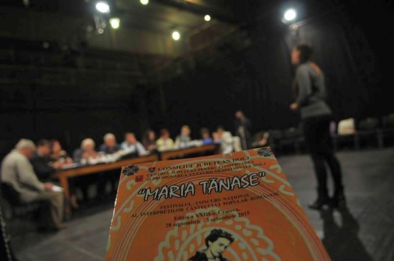 Festivalul Maria Tanase - porgramul concertelor din cadrul concursului interpretilor