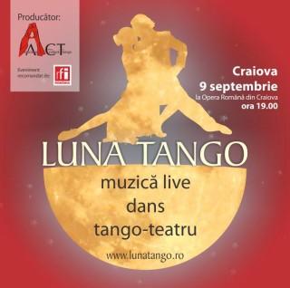 Luna Tango la Opera Romana Craiova