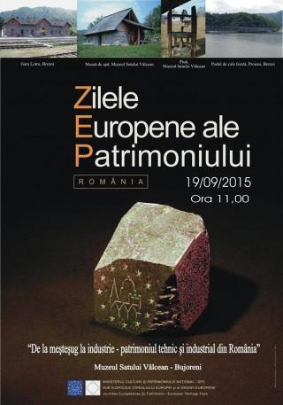 Zilele Europene ale Patrimoniului 2015 la Muzeul Satului Valcean