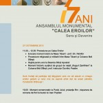 77 ani de Ansamblu Calea Eroilor - manifestari 27 octombrie