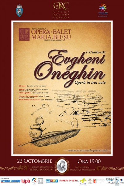 Afis Evgheni Oneghin