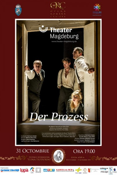 Afis Procesul - Theater Magdeburg