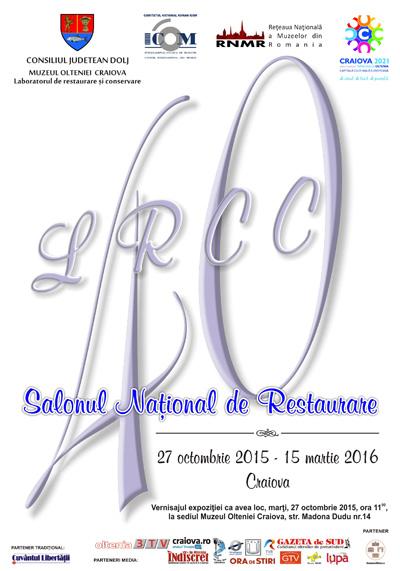 Afis Salonul National de Restaurare