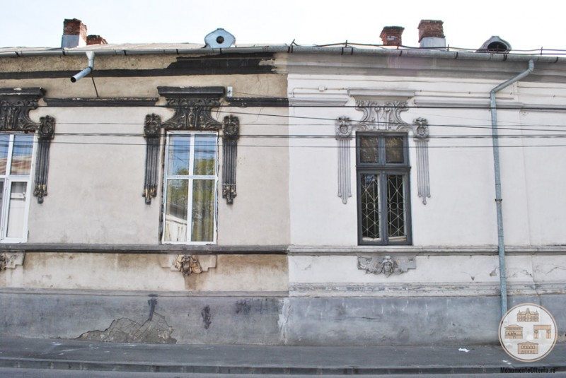 Casa Brailoiu Lecca, Craiova - fatada