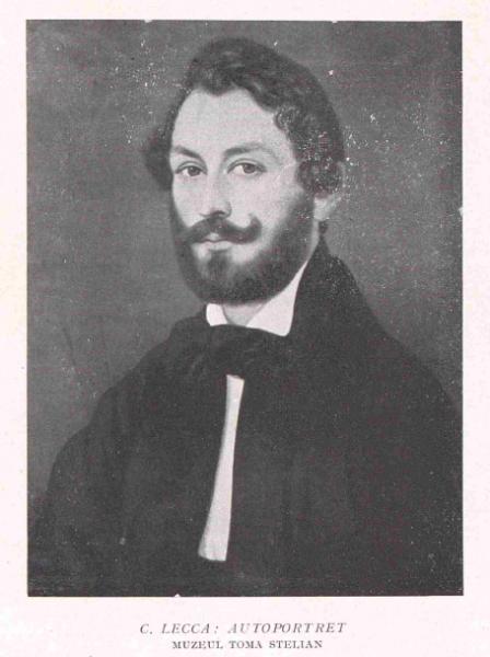 Constantin Lecca - Autoportret