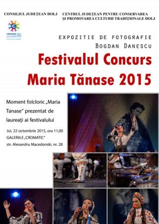Expozitie foto Festivalul Maria Tanase 2015