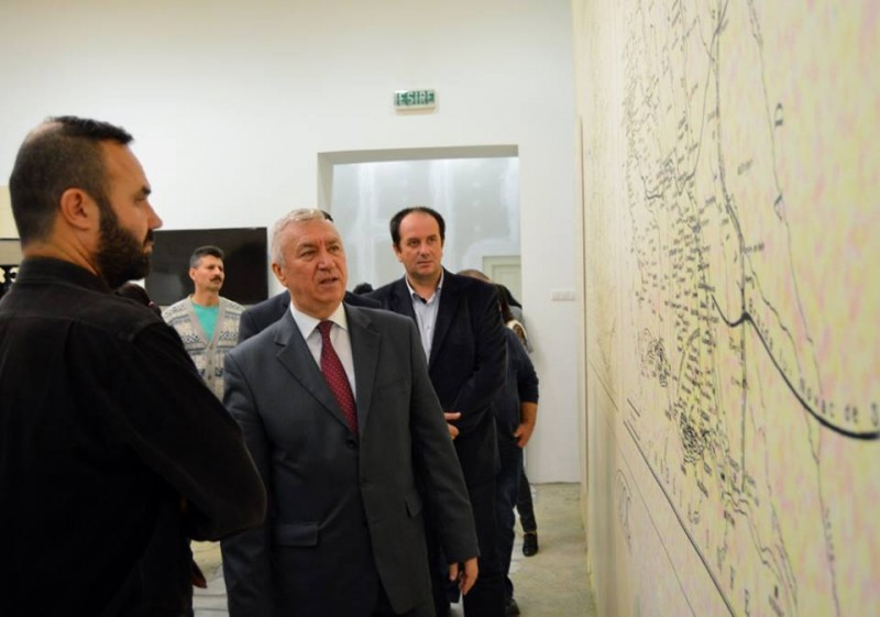 Ion Prioteasa in vizita la Muzeul Olteniei