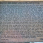 Monumentul Proclamatiei de la Pades - basorelief Proclamatia de la Pades