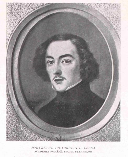 Portretul pictorului Constantin Lecca