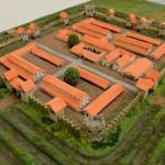 Sectia de Istorie Arheologie a Muzeului Olteniei - macheta