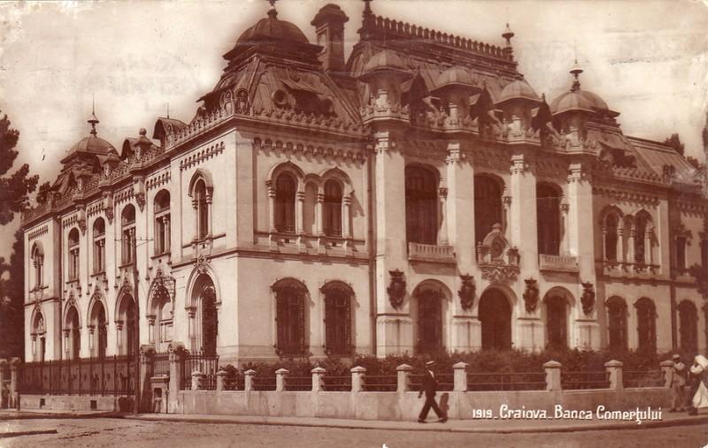 Banca Comertului, Craiova - 1919 (imagoromaniae.ro)