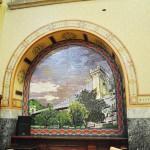 Banca Comertului - Primaria Municipiului Craiova - Mozaic Podul Suspendat din Parcul Romanescu