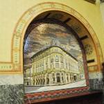 Banca Comertului - Primaria Municipiului Craiova - Mozaic fostul Hotel Pallace