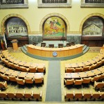 Banca Comertului - Primaria Municipiului Craiova - Sala de sedinte a Consiliului Local Craiova