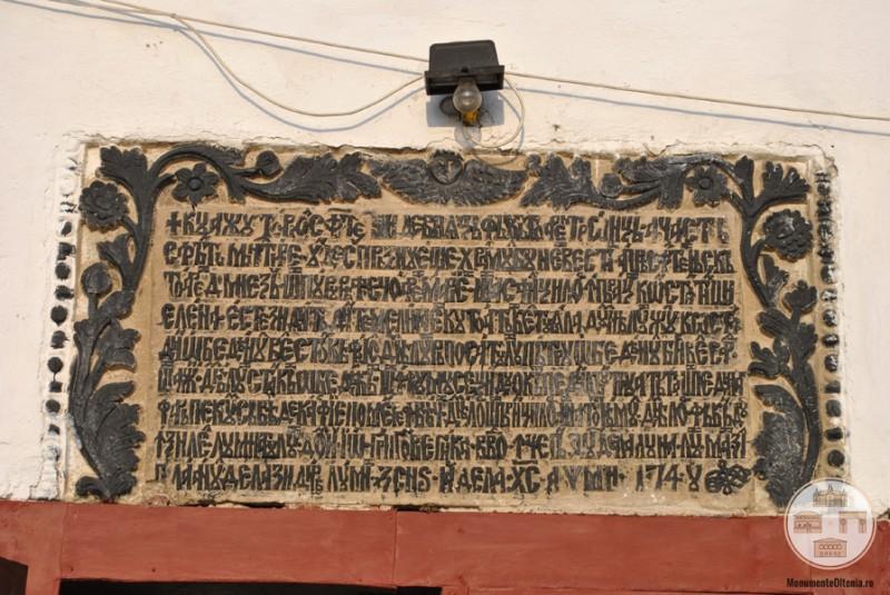 Biserica Obedeanu, Craiova - pisania originala