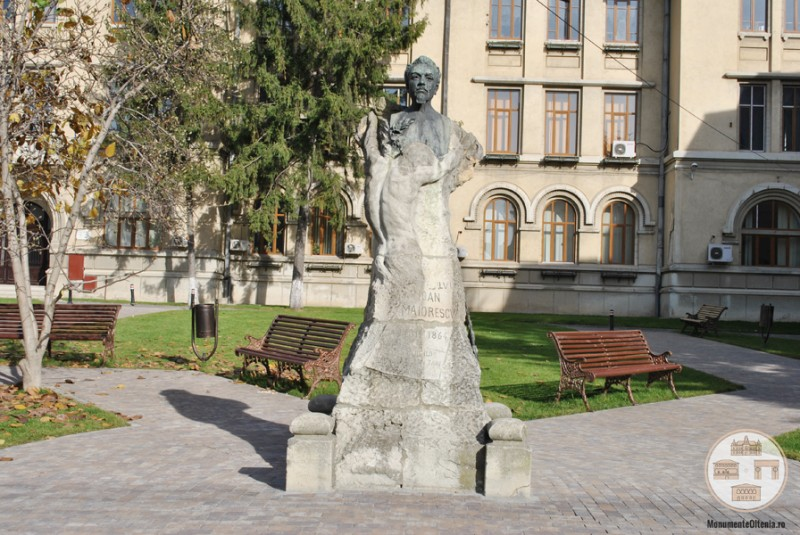 Bustul lui Ioan Maiorescu, Craiova