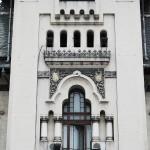 Palatul Administrativ Craiova - detalii turn fatada vestica