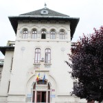Palatul Administrativ Craiova - turn fatada estica
