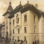 Palatul Administrativ din Craiova - 1913 - scoatere schelelor (greenstone.bjc.ro)