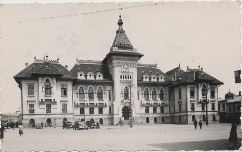 Palatul Administrativ din Craiova - Prefectura Dolj in 1937