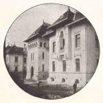 Palatul Administrativ din Craiova - vedere posterioara (Cladiri si studii, Petre Antonescu, 1913)