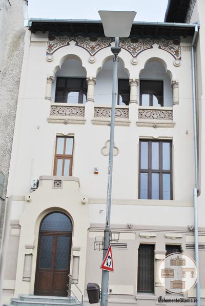 Palatul Ramuri din Craiova - corp lateral