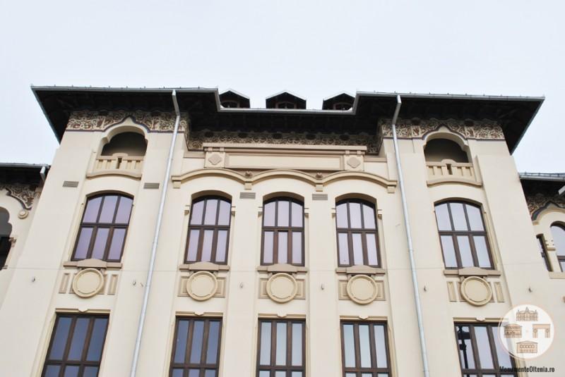 Palatul Ramuri din Craiova - fatada