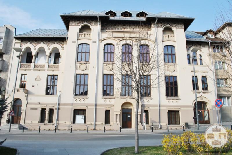 Palatul Ramuri din Craiova - fostul sediu al Editurii si Tipografiei Ramuri