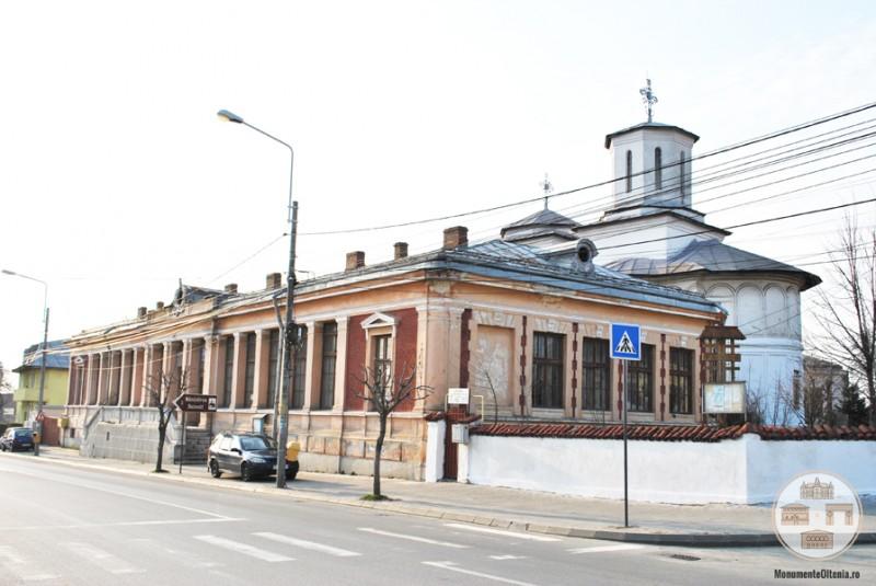Scoala si Biserica Obedeanu din Craiova