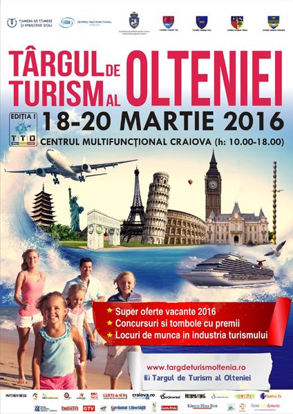 Afis Targul de Turism Oltenia 2016
