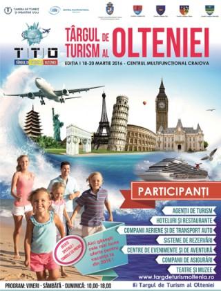 Afis Targul de Turism al Olteniei 2016