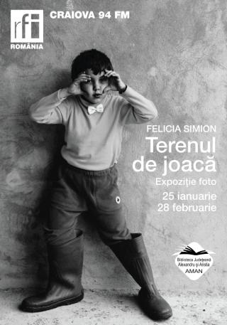Afis expozitie Felicia Simion