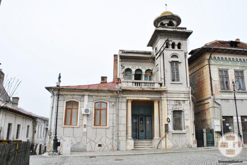 Cladire istorica din zona centrala a municipiului Slatina (1)