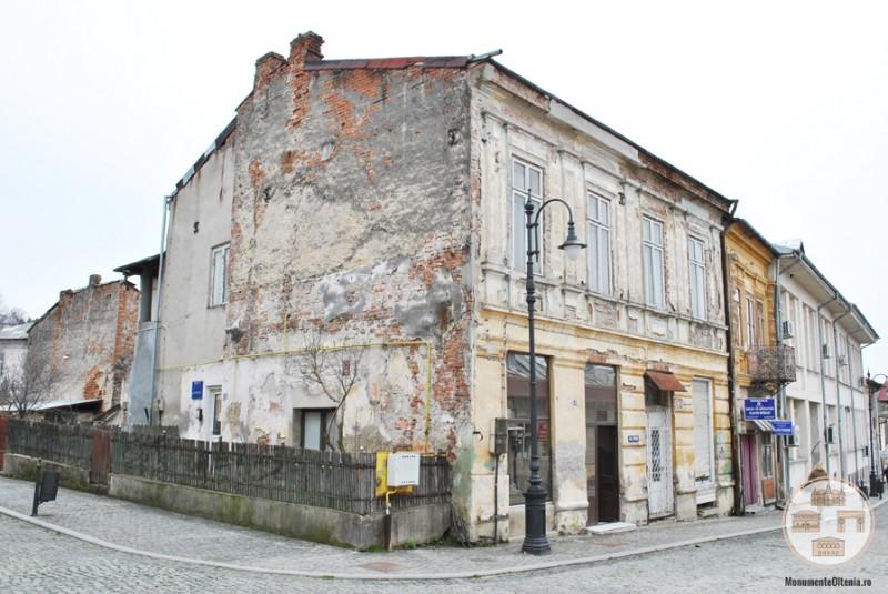 Cladire istorica din zona centrala a municipiului Slatina (2)
