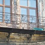 Hanul Putureanu, Craiova - balcon fatada principala