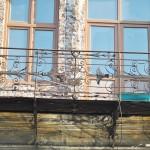 Hanul Putureanu, Craiova - balconul de deasupra intrarii