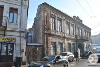Hanul Putureanu, Craiova - fatada str Matei Basarab