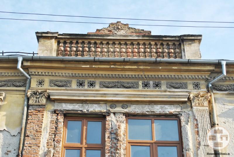 Hanul Putureanu, Craiova - frontispiciu