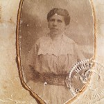 Maria Putureanu - fotografie de epocă din colecția personală a doamnei Laura Ionescu, profesor de istorie din Turda, colecționar
