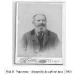 Nita D Putureanu - fotografie de cabinet cca 1900 (sursa Arhivele Olteniei nr 27 pe 2013)