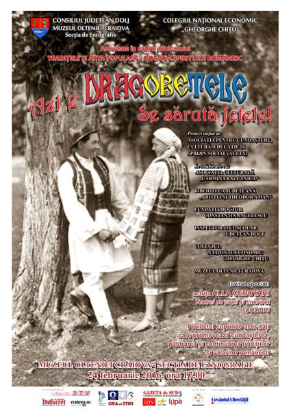 Afis eveniment Dragobete - Casa Baniei Craiova