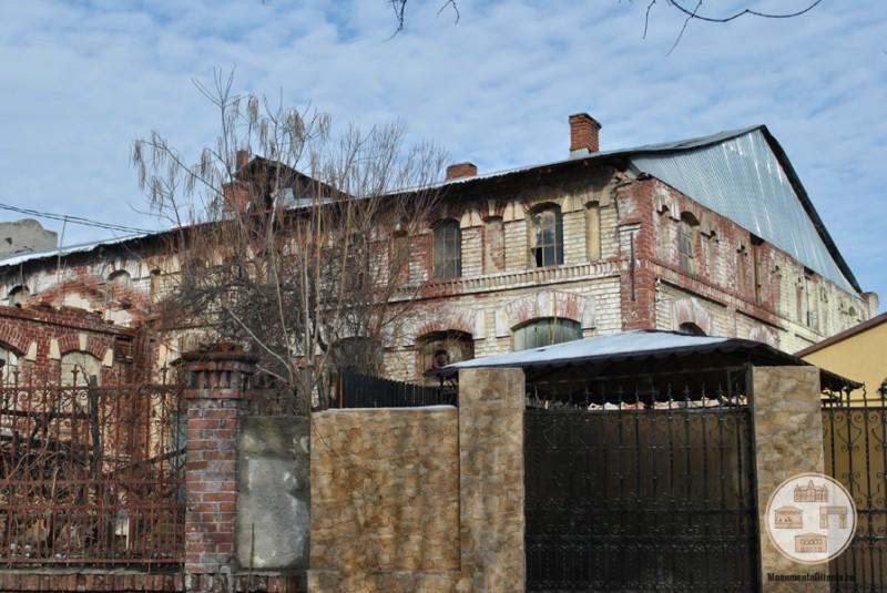 Fabrica Florica, Craiova - corpul princupal vazut dinspre str. Serban Voda