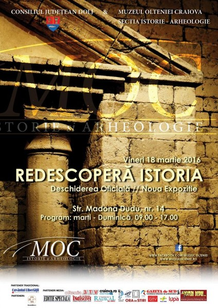 Redescopera Istoria - Muzeul Olteniei Craiova