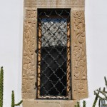 Ancadrament de fereastra - Biserica Manastirii Tismana (2)